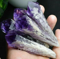 1PC Natural Amethyst Quartz Crystal point Rough Specimen Healing