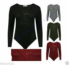 Polyester V Neck Long Sleeve Jumpsuits & Playsuits for Women