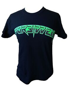 Forbidden 2011 Australian Tour Fitted T-Shirt. Large. Thrash Metal.