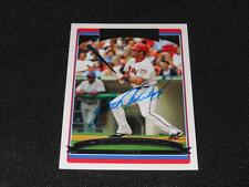 Washington Nationals Ryan Church Signed 2006 Topps Autograph Card #154  922