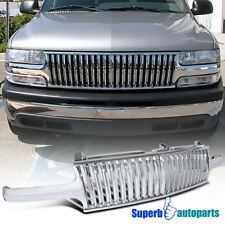 For 99-02 Silverado Tahoe Suburban Vertical Front Hood Grille 1PC