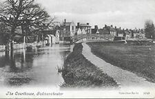 The Courthouse - GODMANCHESTER - Cambs - 1907 Original Postcard (ED230)
