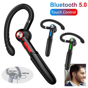 Bluetooth Earphone Ear Hook V5.0 Stereo Sound Headsets Noise Cancelling with Mic