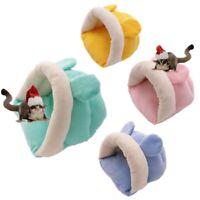 Kuschelhöhle Winter Warm Schlafsack für Meerschweinchen Hamster Eichhörnchen,