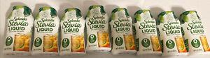 EIGHT (8) bottles Splenda Stevia Liquid Sweetener KETO  SUGAR-FREE