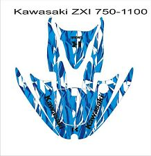 KAWASAKI ZXi 750 1100 jetski Jet Ski Graphic Kit Wrap pwc decals stickers 5