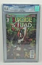 SUICIDE SQUAD 1 - CGC 9.6 White Pages - Harley Quinn - DC Comics 2011 1st Print