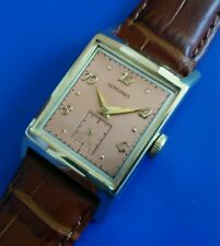 Vintage 1960sMans LONGINES, Stunning Dial, Manual Winding, Fully Serviced!