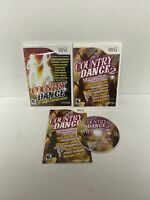 Country Dance Nintendo Wii (NEW) & Dance 2 (USED) Fast Free Ship Complete