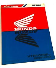 Honda VTR 1000 Fv Firestorm From 1997 Shop Manual / Repair Manual