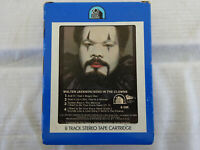 Rare Walter Jackson Send in the Clowns 8 Track Tape Excellent