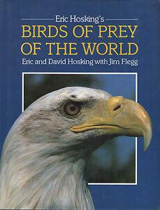 BIRDS OF PREY OF THE WORLD - Eric Hosking's - PELHAM BOOKS 1987