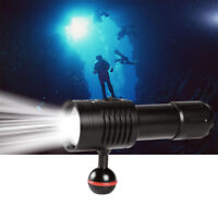 XP-G2 LED Diving Flashlight   Video Photography Light Dive Underwater LamJCA
