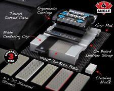 USED M Power FastTrack Chisel Sharpener MK2 Four Angle Sharpening Bundle