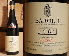 1986er Barolo  -  Bersano  -  Piemont  -  Top !!!!!!
