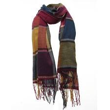 Scotland women Cashmere Scarf Shawl Pashmina Plaid scarf Winter N3