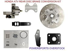 HONDA REAR NEW DISC BRAKE CONVERSION KIT ATV FOREMAN RANCHER TRX 500 450 400 350