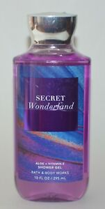 1 Neuf Bath & Body Works Secret Merveilles Gel Douche Laver 296ml Aloés Vitamin