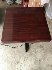 New poly-resin restaurant tables. 24�x 24� In Width 32� Height. Table Top & Base