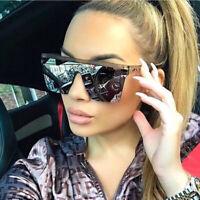 2019 Oversized Luxury Brand Designer Box Outdoor Beach Eyewear UV400 Sunglasses