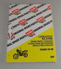 Teilekatalog / Spare Parts Catalog Aprilia Tuareg 50 Stand 1988