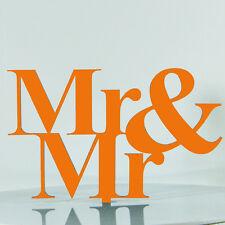 Same Sex Mr Gay Proposal Wedding Engagement Cake Decoration Topper Acrylic