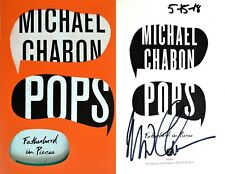 Michael Chabon~SIGNED IN PERSON & DATED ON RELEASE!! ~ Pops ~ 1st/1st + Photos!!