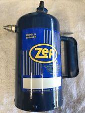 Zep Model B Heavy Duty Steel Solvent Sprayer Go Kart / Sprint Car / Auto Racing