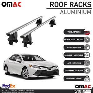 Smooth Top Roof Rack Cross Bar Luggage Carrier For Toyota Camry (XV70) 2018-2021