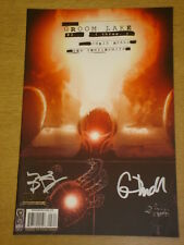 GROOM LAKE #3 VARIANT DOUBLE SIGNED EDITION IDW CHRIS RYALL BEN TEMPLESMITH