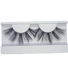 3D Faux Mink Natural Thick eyelashes 25mm - Makeup UK
