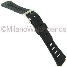 12mm Speidel Express Black Rubber Ladies Sports Watch Band 860 BUY 1 GET 2 FREE!