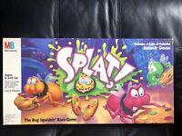 Vintage SPLAT! Bug Board Game Milton Bradley 1990