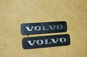 1993-1997 Volvo 850 Front Fender Emblem  Set (2)  OEM