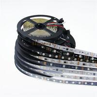 12V Magic Dream Color WS2811 5050 RGB LED Strip 5M 150 240 300 SMD White Black