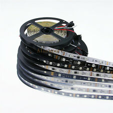 12V Magic Dream Color WS2811 5050 RGB LED Strip 5M 150 240 300 SMD White Black