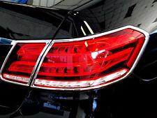 Mercedes W212 E Classe Chrome Feu Arrière Queue Lampe cadres entoure de 04/2013