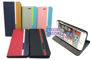 NEW Ultra Slim/Colorful Stand Flip Card Holder Hybrid Cell Phone Case Cover