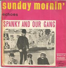 SPANKY AND OUR GANG Sunday mornin' FRENCH SINGLE MERCURY 1968
