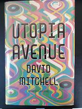 David Mitchell (Cloud Atlas): Utopia Avenue - Signed, Limited 1st UK Ed. - NEW!