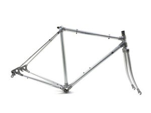 Alan Super Record 49 cm 28/700c Road Racing Bicycle Aluminum Silver Frame