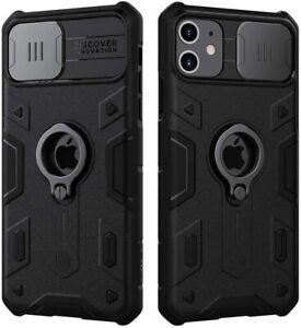 Funda NILLKIN para iPhone 11 11 pro / 11 pro max protector cámara soporte anillo
