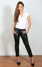 Superweiche Lederhose aus Nappaleder im 7/8 Stil - Größe 34, 36, 38 und 40