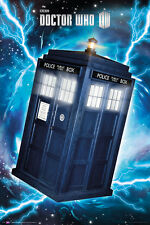 "DOCTOR WHO POSTER ""TARDIS"" LICENSED ""BRAND NEW"""