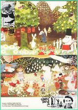 Moomin Tove Jansson Maxi Cards The Dangerous Voyage (2) FDC Finland