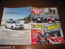 AUTOSPRINT 2011/37=GP F1 D'ITALIA=VETTEL=RALLY AUSTRLIA=ALEX ZANARDI=