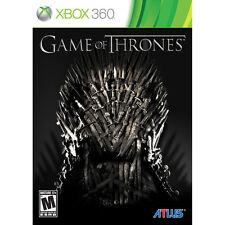 Game of Thrones (Microsoft Xbox 360, 2012)