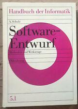 HiA. Schulz, Software-Entwurf, Methoden und Werkzeuge, Bd 5.1