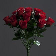 Rosenstrauß Paris 36cm rot DP Kunstblumen Seidenblumen künstlicher Strauße Rosen