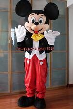 Professionale Mickey Mouse Adulto Costume Della Mascotte Halloween